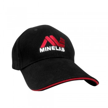 Cappellino logo Minelab (nero)