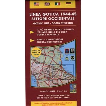 Cartina D Italia 1940.Cartina Linea Gotica 1944 45 Settore Occidentale
