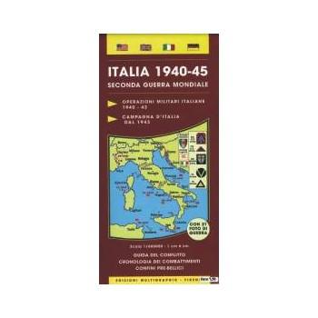Cartina Italia 1940-45...