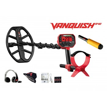 Vanquish 540 + Pro-Find 20