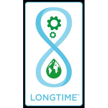 XP DEUS è certificato dall'etichetta LONGTIME® che garantisce longevità, robustezza e riparabilità.
