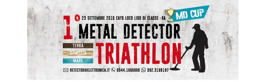 MD CUP 1° Triathlon con metal detector